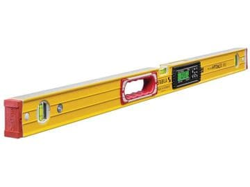 196-2 Electronic Spirit Level IP65 3 Vial 17672 100cm